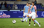 Calcio, Serie A: Lazio vs Palermo. Roma, stadio Olimpico, 2 settembre 2012..Lazio forward Miroslav Klose, of Germany, foreground, scores his second goal during the Italian Serie A football match between Lazio and Palermo at Rome's Olympic stadium, 2 September 2012. Lazio won 3-0..UPDATE IMAGES PRESS/Riccardo De Luca