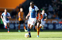 Blackburn Rovers' Ryan Nyambe and <br /> <br /> Photographer Rachel Holborn/CameraSport<br /> <br /> The EFL Sky Bet Championship - Wolverhampton Wanderers v Blackburn Rovers - Saturday 22nd April 2017 - Molineux - Wolverhampton<br /> <br /> World Copyright &copy; 2017 CameraSport. All rights reserved. 43 Linden Ave. Countesthorpe. Leicester. England. LE8 5PG - Tel: +44 (0) 116 277 4147 - admin@camerasport.com - www.camerasport.com