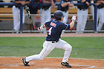 Mississippi's Tim Ferguson bats vs. Murray State in college baseball action at Oxford-University Stadium in Oxford, Miss. on Tuesday, April 27, 2010.