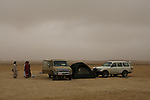 Government officials working for the water departement in Oman camping outside of Salalah. Oman - National Geographic Traveler