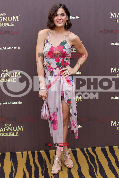 Michelle Calvo during the launch party for the new range of Magnum ice cream at  ME Hotel Reina Victoria. Jun 15,2016. (ALTERPHOTOS/Rodrigo Jimenez) /NortePhoto.com