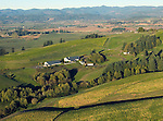 Aerial view of WillaKenzie Estate winery, Willamette Valley, Oregon