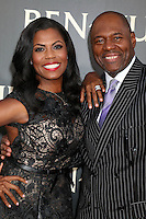 "HOLLYWOOD, CA - AUGUST 16: Omarosa Manigault, Fiance Dr. John Allen Newman at the LA Premiere of the Paramount Pictures and Metro-Goldwyn-Mayer Pictures title ""Ben-Hur"", at the TCL Chinese Theatre IMAX on August 16, 2016 in Hollywood, California. Credit: David Edwards/MediaPunch"