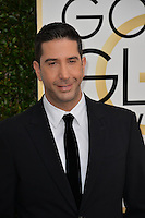 David Schwimmer at the 74th Golden Globe Awards  at The Beverly Hilton Hotel, Los Angeles USA 8th January  2017<br /> Picture: Paul Smith/Featureflash/SilverHub 0208 004 5359 sales@silverhubmedia.com
