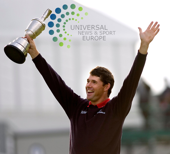 PADRAIG HARRINGTON WITH THE BRITISH OPEN CHAMPIONSHIP 2007: Renowned golf coach Bob Torrance has died at the age of 82, his son Sam has confirmed.<br />