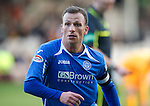 Motherwell v St Johnstone...28.01.12  .Jody Morris.Picture by Graeme Hart..Copyright Perthshire Picture Agency.Tel: 01738 623350  Mobile: 07990 594431