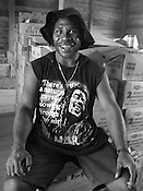 Superhero t-shirt fashion- Bob Marley, Manus Island, Papua New Guinea, Tuesday 30th September 2008.