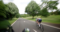 speeding away<br /> <br /> 2013 Ster ZLM Tour <br /> stage 4: Verviers - La Gileppe (186km)