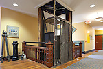 Staunton, Virginia historical society antique elevator
