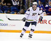 Kyle Palmieri (USA - 23) - Team USA defeated Team Slovakia 7-3 on Saturday, December 26, 2009, at the Credit Union Centre in Saskatoon, Saskatchewan during the 2010 World Juniors tournament.