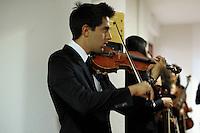 Orchestra giovanile di Roma.Backstage...