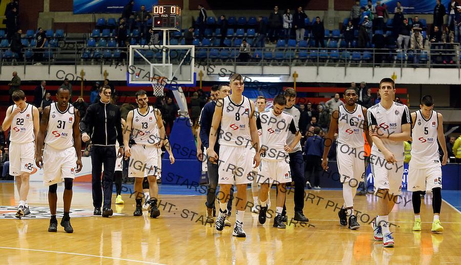 Aba regionalna liga Partizan - Igokea 27.12.1015. December 27. 2015. (credit image & photo: Pedja Milosavljevic / STARSPORT)