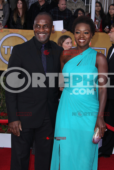 LOS ANGELES, CA - JANUARY 27: Viola Davis at The 19th Annual Screen Actors Guild Awards at the Los Angeles Shrine Exposition Center in Los Angeles, California. January 27, 2013. Credit: MediaPunch Inc.