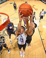 Isaiah Austin at the NBPA Top100 camp June 17, 2010 at the John Paul Jones Arena in Charlottesville, VA. Visit www.nbpatop100.blogspot.com for more photos. (Photo © Andrew Shurtleff)