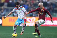ROMA, Italy: December 22, 2013: As Roma beats Catania 4-0 during the Serie A match played in the Olimpico Stadium.