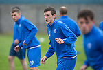 St Johnstone Training&hellip;22.07.16<br />Blair Alston pictured during training this morning at McDiarmid Park ahead of tomorrows Betfred Cup game against his former team Falkirk.<br />Picture by Graeme Hart.<br />Copyright Perthshire Picture Agency<br />Tel: 01738 623350  Mobile: 07990 594431