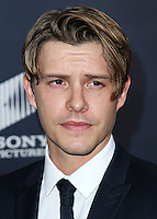 WASHINGTON, DC, USA - OCTOBER 15: Xavier Samuel arrives at the Washington DC Premiere Of Sony Pictures' 'Fury' held at The Newseum on October 15, 2014 in Washington, DC, United States. (Photo by Jeffery Duran/Celebrity Monitor)
