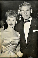 BNPS.co.uk (01202 558833)<br /> Pic: DominicWinter/BNPS<br /> <br /> Natalie Wood &amp; Tad Hunter.<br /> A remarkable set of 430 candid photographs of Hollywood royalty have been unearthed after 50 years.<br /> <br /> Included in the collection of unpublished pictures are snaps of silver screen icons Paul Newman, Charlie Chaplin, Bette Davis, Audrey Hepburn, and Dean Martin.<br /> <br /> Paul Newman is captured looking over his shoulder at the wheel of his car and Charlie Chaplin is pictured without his trademark moustache. <br /> <br /> Audrey Hepburn has posed with her then husband actor Mel Ferrer while Bette Davis can be seen puffing on a cigarette.<br /> <br /> The snaps were taken by obsessive amateur photographer Dwight 'Dodo' Romero from 1954 to 1967 who would hang around at Hollywood parking lots and other hang-outs to catch a glimpse of the stars.<br /> <br /> The photos, which more recently belonged to a book dealership in York, have emerged for auction and are tipped to sell for &pound;800.