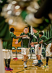 12 January 2016: The Winooski High School Spartans host the Stowe High School Raiders in Boys Varsity Basketball at the Winooski High Gymnasium in Winooski, Vermont. The Spartans defeated the Raiders 74-19 in Division III play. Mandatory Credit: Ed Wolfstein Photo *** RAW (NEF) Image File Available ***