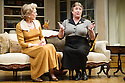 London, UK. 26.03.2014. Theatre Royal Bath Production's West End transfer of RELATIVE VALUES, by Noel Coward, opens at the Harold Pinter Theatre. Picture shows: Patricia Hodge (Felicity) and Caroline Quentin (Moxie). Photograph © Jane Hobson.