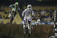 01/22/11 Los Angeles, CA:  Kyle Cunningham during the 1st ever AMA Supercross held at Dodger Stadium.