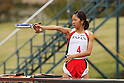 Shino Yamanaka (JPN), OCTOBER 30, 2011 - Modern Pentathlon : The 2nd All Japan Women's Modern Pentathlon Championships pistol shooting at JSDF Physical Training School, Saitama, Japan. (Photo by YUTAKA/AFLO SPORT) [1040]