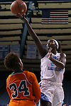 17 November 2015: North Carolina's Destinee Walker (24) shoots over Florida A&M's Kenya Dixon (34). The University of North Carolina Tar Heels hosted the Florida A&M University Rattlers at Carmichael Arena in Chapel Hill, North Carolina in a 2015-16 NCAA Division I Women's Basketball game. UNC won the game 94-58.