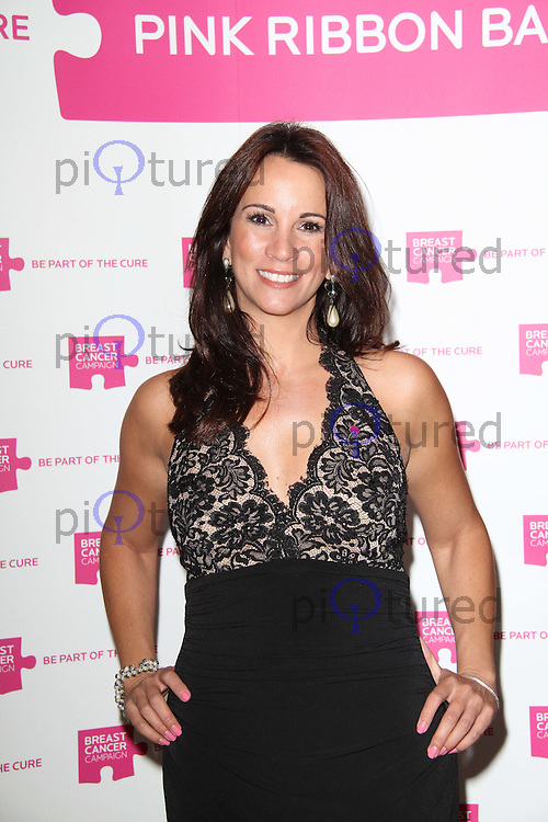 Andrea McLean The Pink Ribbon Ball, Dorchester Hotel, London, UK. 08 October 2011. Contact: Rich@Piqtured.com +44(0)7941 079620 (Picture by Richard Goldschmidt)
