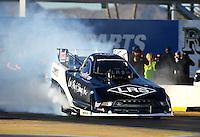 Feb 3, 2016; Chandler, AZ, USA; NHRA funny car driver Tim Wilkerson during pre season testing at Wild Horse Pass Motorsports Park. Mandatory Credit: Mark J. Rebilas-USA TODAY Sports