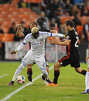 Washington, D.C. - October 27, 2016: The Montreal Impact defeated D.C. United 4-2 during a Major League Soccer (MLS) Playoff Knockout round match at RFK Stadium.
