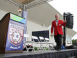 26 August 2007: .. The National Soccer Hall of Fame Induction Ceremony was held at the National Soccer Hall of Fame in Oneonta, New York.