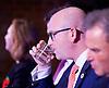 UKIP <br /> Leadership hustings <br /> at the Emanuel Centre, London, Great Britain <br /> 1st November 2016 <br /> <br /> the first leadership hustings before the election on 28th November 2016 <br /> <br /> <br /> Paul Nuttall <br /> <br /> <br /> <br /> <br /> Photograph by Elliott Franks <br /> Image licensed to Elliott Franks Photography Services