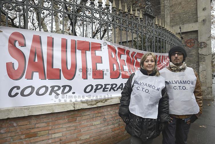 Roma, 19 Gennaio 2013.Corteo dei movimenti per il diritto all'abitare contro gli sgomberi e la svendita degli spazi pubblici.Salviamo il C.T.O