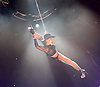 La Soiree<br /> at the La Soiree Spiegeltent, Southbank Centre, London, Great Britain <br /> press photocall<br /> 29th October 2015 <br /> <br /> <br /> Yammel Rodriguez <br /> aerial acrobatics <br /> <br /> Photograph by Elliott Franks <br /> Image licensed to Elliott Franks Photography Services