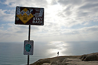 Goat Trail Hiker - Black's Beach - La Jolla - California