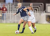 San Jose, CA - December 2, 2016: The NCAA Women's Soccer Championships. The semifinals; Georgetown Hoyas vs the USC Trojans at Avaya Stadium. Final score, Georgetown 0, USC 1.