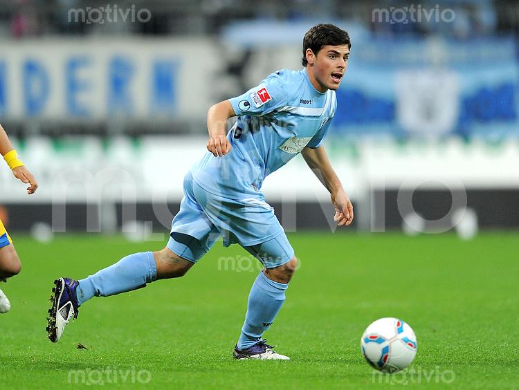 2. Fussball Bundesliga:  Saison   2011/2012,    18.  Spieltag  TSV 1860 Muenchen - Eintracht Braunschweig  09.12.2011 Kevin Volland (1860 Muenchen)
