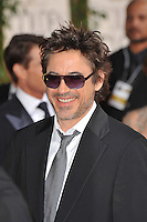 Robert Downey Jr at the 66th Annual Golden Globe Awards at the Beverly Hilton Hotel..January 11, 2009 Beverly Hills, CA.Picture: Paul Smith / Featureflash