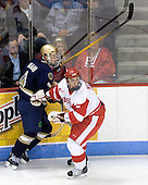 Ryan Thang (Notre Dame - 9), Max Nicastro (BU - 7) - The University of Notre Dame Fighting Irish defeated the Boston University Terriers 3-0 on Tuesday, October 20, 2009, at Agganis Arena in Boston, Massachusetts.