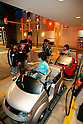"KIDZANIA TOKYO, ""Edutainment City"",.children working at the gas station."