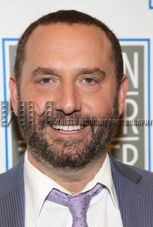 Adam Dannheisser attends the Opening Night Performance press reception for the Lincoln Center Theater production of 'Oslo' at the Vivian Beaumont Theater on April 13, 2017 in New York City.