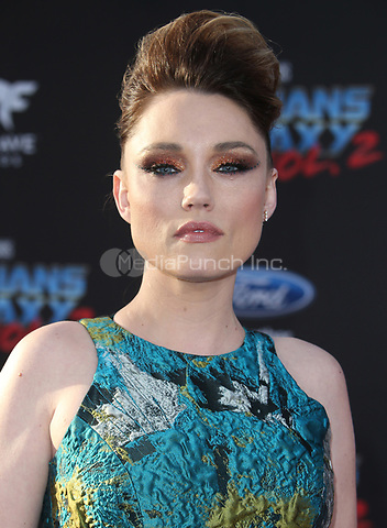"""HOLLYWOOD, CA - April 19: Clare Grant, At Premiere Of Disney And Marvel's """"Guardians Of The Galaxy Vol. 2"""" At The Dolby Theatre  In California on April 19, 2017. Credit: FS/MediaPunch"""