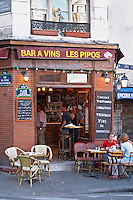 A Paris wine bar