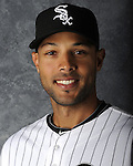 GLENDALE, AZ - MARCH 03:  Alex Rios of the Chicago White Sox poses for his official team headshot during photo day on March 3, 2012 at The Ballpark at Camelback Ranch in Glendale, Arizona. (Photo by Ron Vesely)   Subject:   Alex Rios