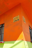 Street corner in Santiago Tuxtla, Veracruz, Mexico