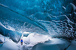 Ice cave in Iceland