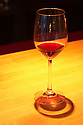 Glass of Patricia Green Cellars Pinot Noir at 750ML, a wine bar in the Pearl District, Portland, Oregon. .#D0307360