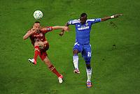 FUSSBALL   SAISON 2011/2012   CHAMPIONS LEAGUE FINALE FC Bayern Muenchen - FC Chelsea  19.05.2012 Franck Ribery (li, FC Bayern Muenchen) gegen Salomon Kalou (re, FC Chelsea)