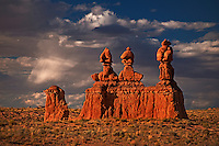 751000011 hoodoo formations in the high desert of goblin valley state park utah united states