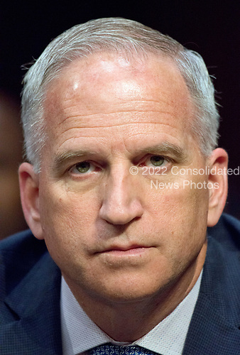 Robert Cardillo, Director of the National Geospatial-Intelligence Agency (NGA), testifies during the United States Senate Select Committee on Intelligence hearing titled &quot;Worldwide Threats&quot; on Capitol Hill in Washington, DC on Thursday, May 11, 2017.  <br /> Credit: Ron Sachs / CNP<br /> (RESTRICTION: NO New York or New Jersey Newspapers or newspapers within a 75 mile radius of New York City)